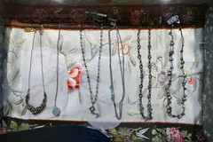 pt. reyes hike day with sue, in a store 8-18 (nolehace) Tags: point pt reyes hike day sue store 818 necklace necklaces summer nolehace sanfranciso fz1000