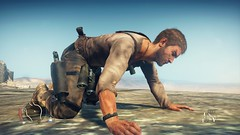 Mad Max_20180925002936 (Livid Lazan) Tags: mad max videogame playstation 4 ps4 pro warner brothers war boys dystopia australia desert wasteland sand dune rock valley hills violence motor car automobile death race brawl scenery wallpaper drive sky cloud action adventure divine outback gasoline guzzoline