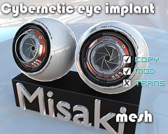 Cybernetic_eye_implant (ole4kasamara) Tags: bento cyber robot scifi avatars girl droid android mechanism computerized electronic hightech virtual mechanized robotic cyborg eyes