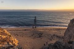 Davenport Sunset 3 (lycheng99) Tags: davenport davenportbeach beach piers sunset ocean pacificcoast pacificocean californiacoast sand people landscape nature sky
