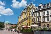 Pecs - Hungary (mnauelribeiro) Tags: cidade pecs hungria praça central céu