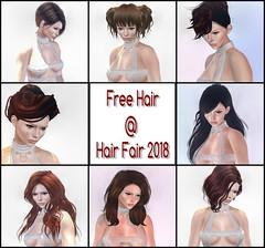 Freebies @ Hair Fair 2018 (Ember Adored) Tags: hairfair2018 freebies freebiesinsecondlife freebie gifts secondlifeevents mesh bento