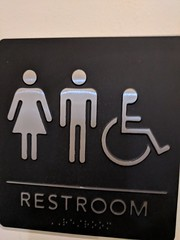 Restroom sign (earthdog) Tags: 2018 googlepixel pixel androidapp moblog cameraphone sign word text restroom