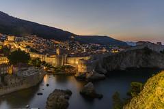 Dubrovnik Skyline (rahe.johannes) Tags: dubrovnik altstadt blauestunde morgens urlaub kroatien unterwegs küste mittelmeer