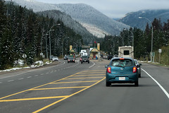 Highway 16 - Yellowhead, AB (Carneddau) Tags: alberta canada highway16 jaspernationalpark yellowheadhighway fromcar parkentrance snow