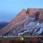21 Dämmerung nach Sonnenuntergang - Richtung Westen vom Tierser Alp thumbnail
