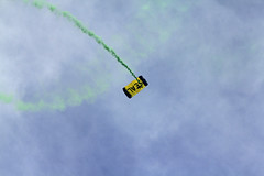 At Fleetweek 2018, San Francisco_134 (Walt Barnes) Tags: canon eos 60d eos60d canoneos60d wdbones99 wdbones clouds sky scenery skyline vista view bay sanfranciscobay water fleetweek ca calif marinagreen fleetweeksf leapfrogs usn parachute demonstration team parachutedemonstrationteam seals navyseals smoke warfare military