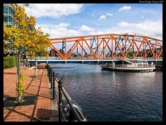 Detroit Bridge #1 (jason_hindle) Tags: manchester unitedkingdom greatermanchester ipadair2 salford salforddocks autumn lightroomcc olympus1240f28 detroitbridge huronbasin eriebasin snapseed olympusomdem5 salfordquays