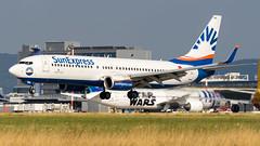 Boeing 737-86J(WL) TC-SNV SunExpress (William Musculus) Tags: airport spotting basel mulhouse freiburg bsl eap mlh lfsb euroairport flughafen tcsnv sunexpress boeing 73786jwl sxs xq 737800