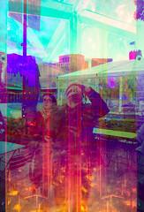 PA170675 (elsuperbob) Tags: detroit downtowndetroit art beaconpark reflections colors selfie prismatica rawdesign installationart