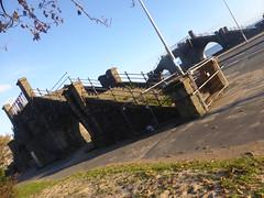 Slip Bridge, Swansea (andreboeni) Tags: slip bridge swansea wales southwales glamorgan structure demolished