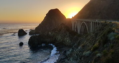 California Highway 1 (hó) Tags: california road bridge highway1 landscape coast sea pacific bigsur sunset dusk june 2018 slope