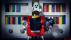 Spooky tales (black.zack00) Tags: lego minifig minifigure photography afol tales monster halloween toy toys