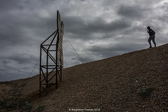 Becoming X (frattonparker) Tags: btonner lightroom6 nikond810 raw tamron28300mm frattonparker dungeness x daymarks daymark shingle frame wooden timbers englishchannel sky clouds cirrus cumulus cirrocumulus altocumulus stratocumulus stratus cloudwhisperer overcast silhouette