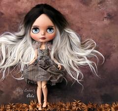 Ada <3 (pure_embers) Tags: pure embers blythe doll dolls laura england uk custom ooak sunshine holiday tan ada embersada takara neo ombre hair alpaca reroot girl photography chailai portrait