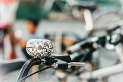 Bicycle bell (babs van beieren) Tags: 2dwf bicycles bell bicycle dof nikon fixedlense