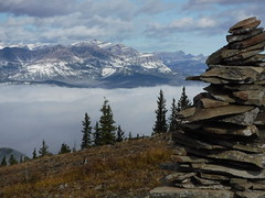 Hunchback hills (davebloggs007) Tags: hunchback hills kananaskis alberta canada mountains fog bow valley