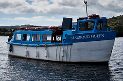 Harbour Ferry (kendo1938) Tags: glengarriff countycork ireland ie bantrybay sea water sky clouds blue ferry