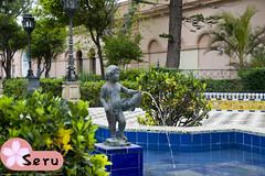 Fuente de la Alameda (Seruru) Tags: españa spain cadiz fuente fountain escultura sculpture agua water niño child avenue alameda スペイン カヂズ 水 彫刻 子供 公園 噴水