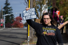'Believe Her!' Rally & March Against the Nomination of Brett Kavanaugh
