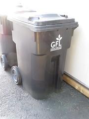 GFL Trash Cart (TheTransitCamera) Tags: thunderbay ontario canada city gfl ipl cart can bin wheeliebin waste rubbish