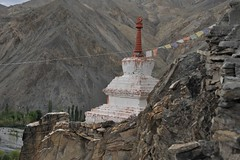 Stupa at Wanla Monastery