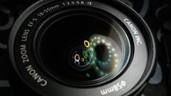 Reflejos en la lente (marianodearriba) Tags: marianodearriba lente reflejos leds