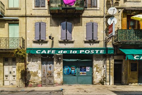 Cafe de la Poste and a Human Habitats