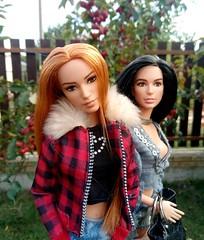 October in our hearts (ArtCat80) Tags: barbiecollector barbie wonder woman ww dc dolls mera diana mattel galgadot