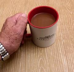 Nightime cocoa 158-365 (12) (♔ Georgie R) Tags: table mug cocoa ashburnhamplace sussex