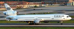 McDonnell Douglas MD-11 N277WA (707-348C) Tags: atlanta hartsfield katl atl mcdonnelldouglas woa mcdonnell douglas md11 passenger airliner jetliner n277wa worldairways world usa 2018 georgia