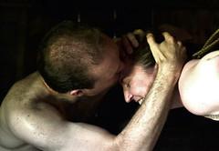 loftkiss (Matter is Spirit) Tags: intimacy man woman kiss sunset loft affection embrace male female nude fine art artistic erotic