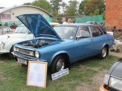 1978 Morris Marina 1.8 Special (quicksilver coaches) Tags: morris marina xvx40s blautumnrally miltonkeynes