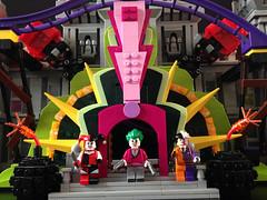 The Manor Takeover (bricksfreaks) Tags: batman dc dccomics gotham lego comics custom customminifigures customlego customfigures joker manor harleyquinn twoface supervillains minifigures minifigs fun