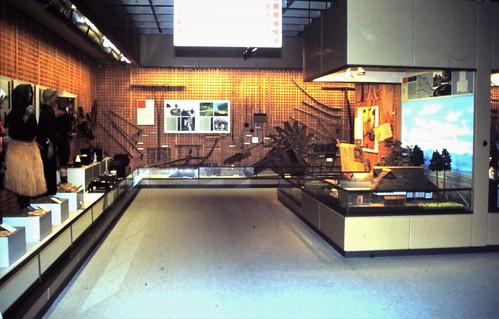 Permanent displays at Fukui prefectural museum