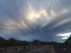 Bands & Rays_TL (northern_nights) Tags: timelapse sunrise atmosphericoptics crepuscularrays yi4kactioncam vail arizona