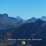 08 Dolomiten Impression vom Schlernhaus thumbnail