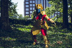 SP_69564-2 (Patcave) Tags: awa 2017 awa2017 atlanta galleria waverly renaissance hotel anime cosplay cosplayer cosplayers costume costumers costumes shot comics comic book scifi fantasy movie film sword armor blue skin