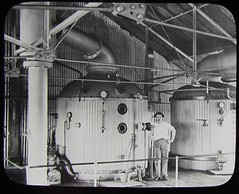 Sugar vacuum pans at North Isis Sugar Mill in Queensland - 14 September 1896 (Aussie~mobs) Tags: sugarvacuumpans sugarmill queensland vintage australia industry sugarcaneindustry 1896 northisissugarmill aussiemobs