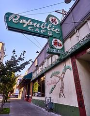 Historic Republic Cafe - Chinatown - Old Town Portland Oregon (coljacksg) Tags: portland oregon usa cafe rebublic chinese restaurant historic chinatown sing hop suey mafia tongs