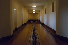 Bowling Alley at Biltmore House (rschnaible) Tags: biltmore house estate mansion building architecture interior home the south north carolina asheville bowling alley low light