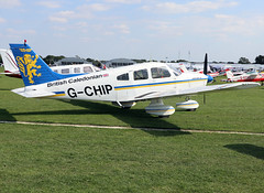 G-CHIP (wiltshirespotter) Tags: sywell laarally egbk piper pa28 cherokee archer bcal britishcaledonian