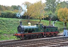 Stirling SER number 65 at Horsted Keynes (davids pix) Tags: 65 stirling class o1 31065 ser secr bluebell railway horsted keynes preserved steam locomotive 2018 12102018