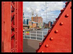 From Detroit Bridge (jason_hindle) Tags: manchester unitedkingdom greatermanchester ipadair2 salford salforddocks lightroomcc autumn olympus1240f28 huronbasin detroitbridge snapseed olympusomdem5 salfordquays