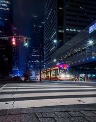StreetCar Toronto, ON, Canada (enriquequiroga1) Tags: toronto streetcar urban street travel long exposition photography canon