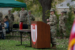 181013-A-PC761-1060 (416thTEC) Tags: 372nd 372ndenbde 397th 397thenbn 416th 416thtec 863rd 863rdenbn army armyreserve engineers fortsnelling hhc mgschanely minneapolis minnesota soldier usarmyreserve usarc battalion brigde command commander commanding historic