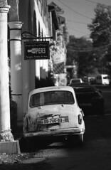 Kutaisi,09/2018 (Jerry501) Tags: kodak125px kodak expiredfilm 105mm nikonfa street travel georgia kutaisi blackandwhite bnw 35mm analog film