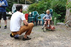 FFD 2018 (Shu-Sin) Tags: ffd 2018 ffd18 18 french fender day ct lyme jpw peter weigle bicycle bike velo ancien old vintage randonneur randonneuse touring 650b event gathering tricycle father son