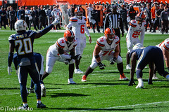 Cleveland Browns vs Los Angeles Chargers (jtrainphoto) Tags: football clevelandbrowns cle cleveland ohio unitedstates us