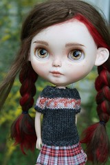 Clove Love <3 (Chassy Cat) Tags: rendezvous chouchou weepingbeauty alpaca reroot scalp doll custom customized blythe sbl chassycat licca ears cangaway fashion